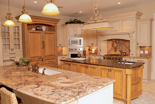 The kitchen is still the heart of the home