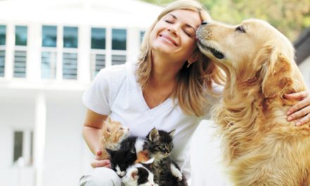 Pets can contribute to  owners' well being, health