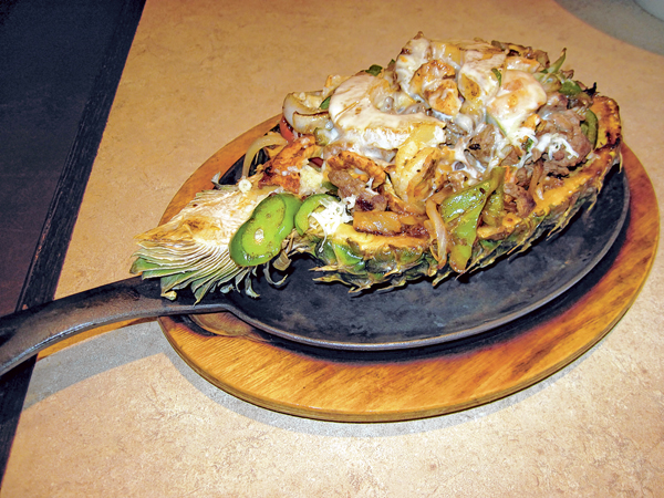 Cinco Mexican Grill serves authentic cuisine in abundance