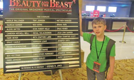 Young actor blazes global trail