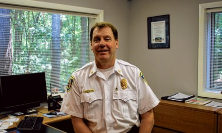 Island's fire chief reflects on 28-year career through the ranks