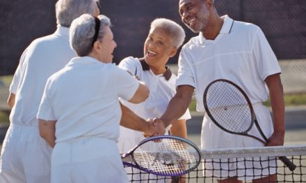 Tennis a sport for a lifetime, especially for seniors