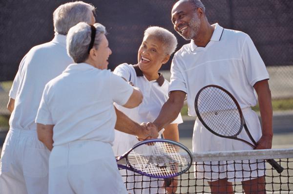 Tennis a sport for a lifetime, especially for seniors