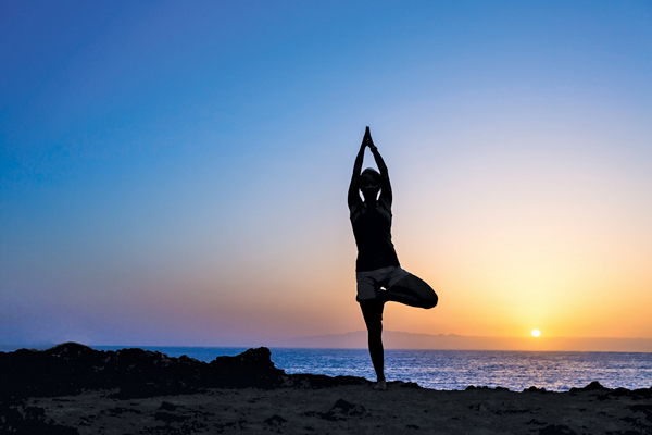 Feeling limitless on the yoga mat is powerful
