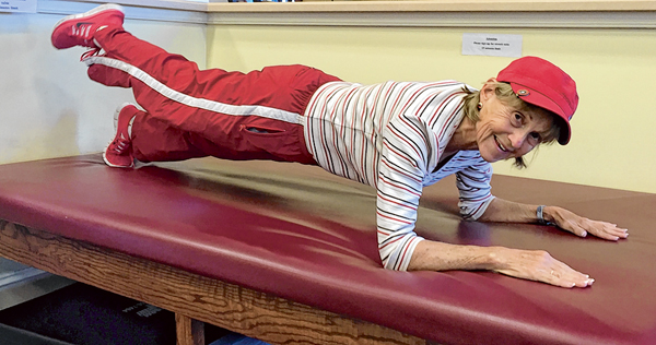 Stretching exercises help improve range of motion