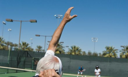 Trouble with your serve? Chin up – it'll get better