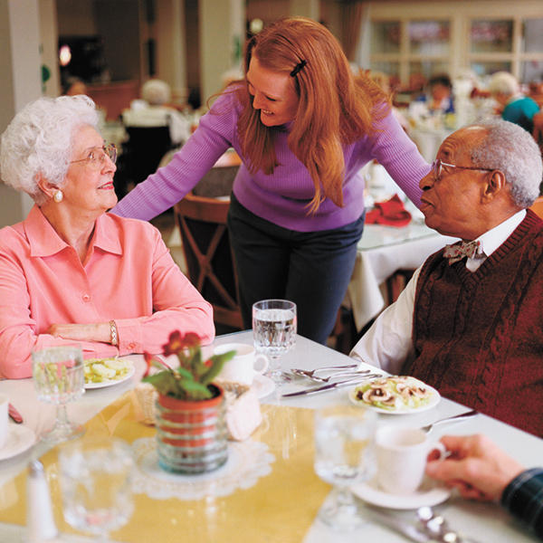 Placing loved one in  memory care can be positive