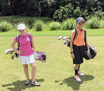 Summer is the perfect season for junior golf