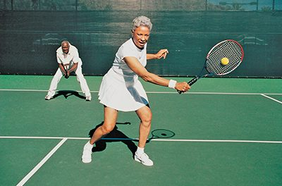 Try split step to 'dance' your way to better tennis