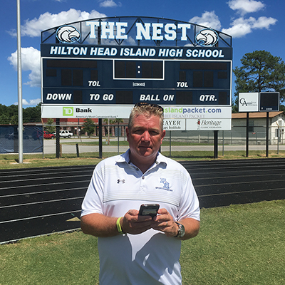 Weather alert station to be installed at Island Rec