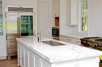 Color trends come and go; neutral stone is classic