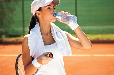 Hydrate often to stay cool, healthy in summer heat