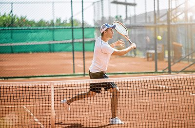 Try 'short-court' tennis to improve full-court game