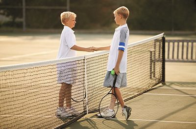 Tennis 'ad in' can give kids an 'ad'(vantage) in classroom