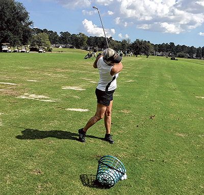 Practice your golf 'game' then take it to the course