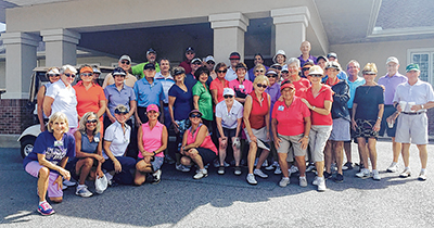Playing in charity golf events a good way to give back