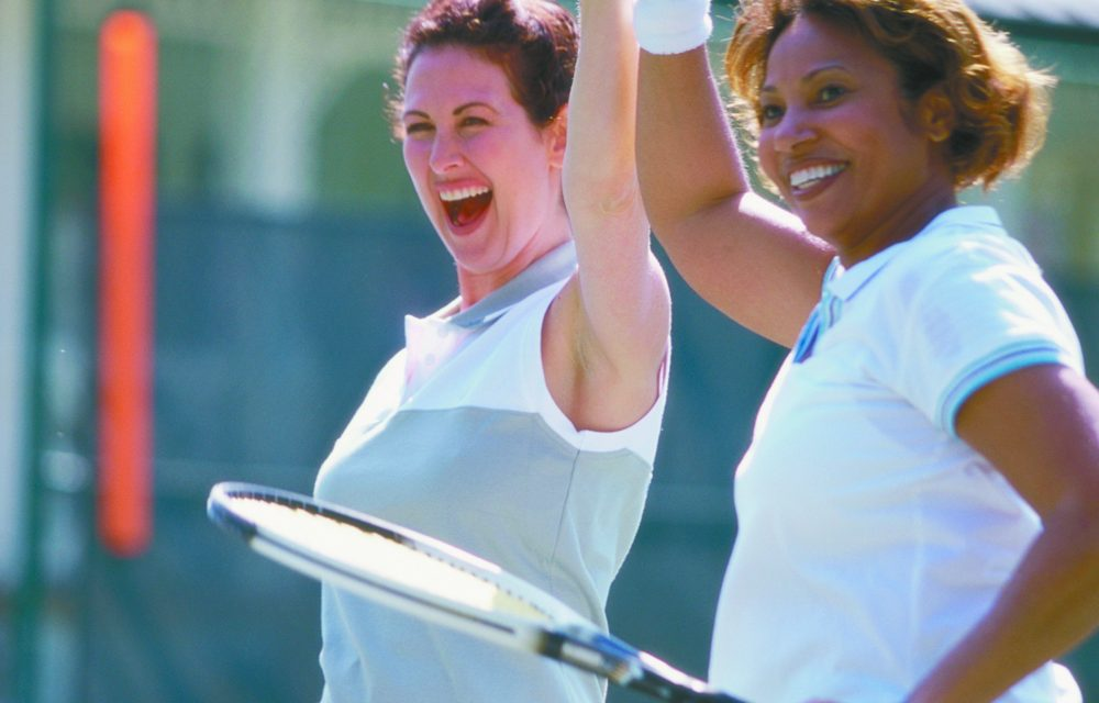 Great communication is basis for good doubles