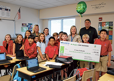 Area teachers awarded Bright Ideas grants; students are the winners