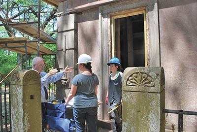 Historic island sites  honored, set for restoration
