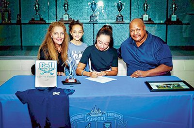 A young woman's journey from Girls Golf to college scholarship