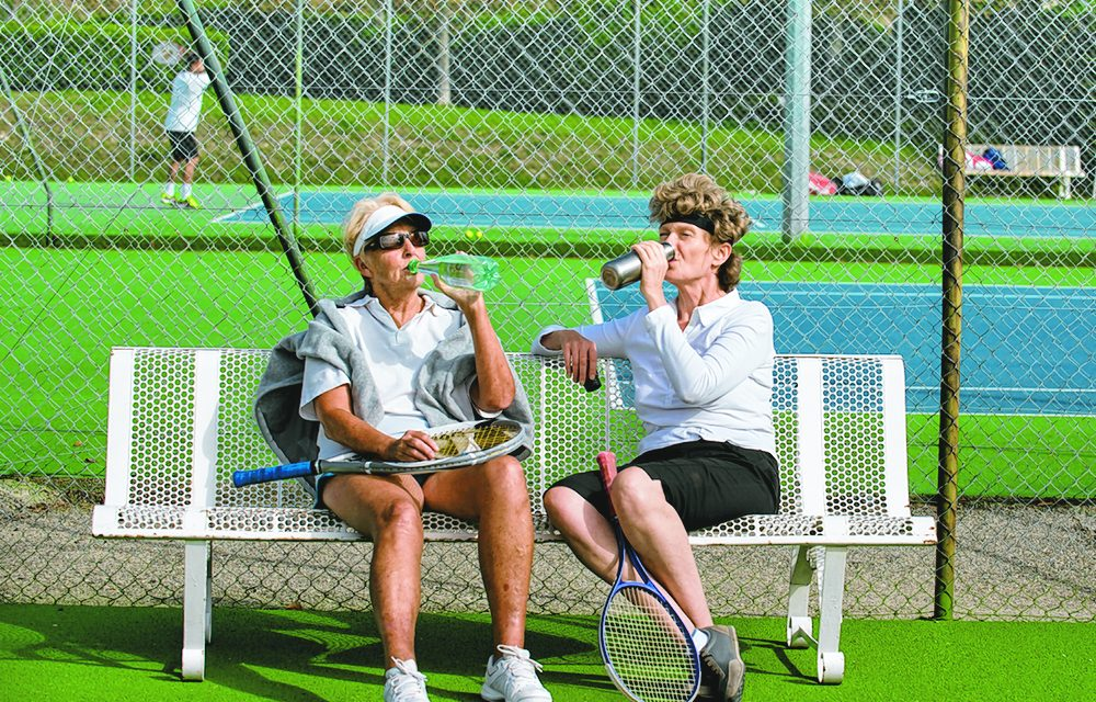 Preparing to enjoy winter tennis in the Lowcountry