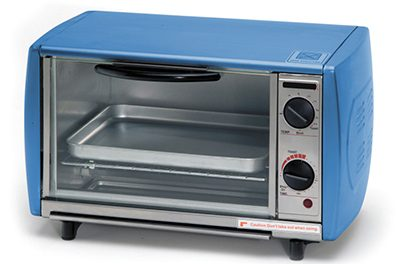 Be mindful when warming food in small appliances