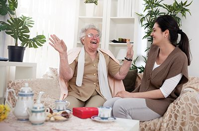 Caregiving a tough job with great rewards