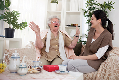 Caregiving a tough job with great rewards