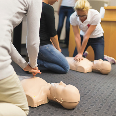 Don't delay; sign up for a CPR class as soon as possible