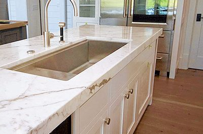 Five top trends for kitchen countertops