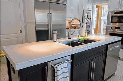 How to make a small kitchen feel, look bigger than it is