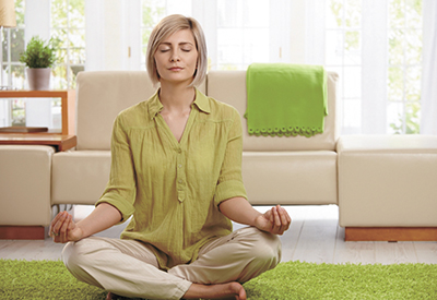 Make time to turn off your brain and meditate