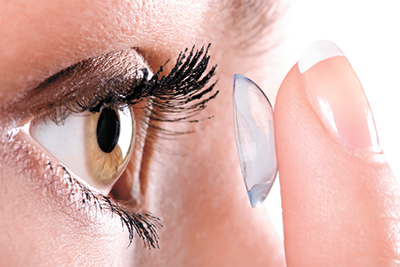 Contact lens advances for medical eye care