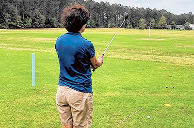 Pre-shot routine important to golfing success