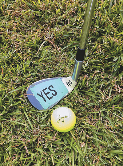 Avoiding the dreaded 'S' word in golf