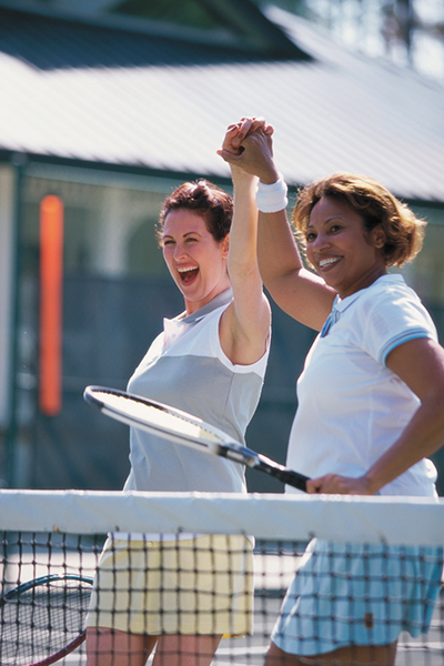 Discover your tennis abilities by playing in 'real time'