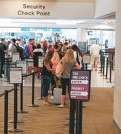Infrequent flyers can now sign up in Bluffton for TSA PreCheck