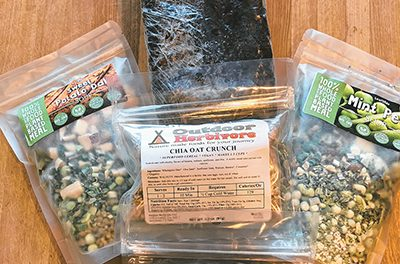 Keep it simple when preparing food for the trail