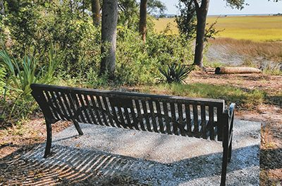 Park bench notes  sacrifice of freedmen
