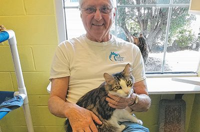 Volunteer makes it his mission to get shelter pets adopted