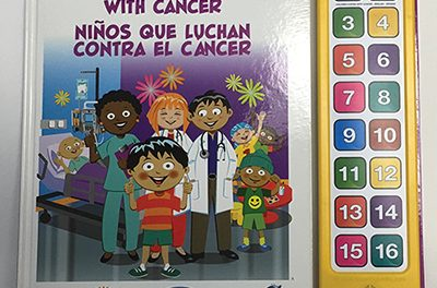 Rotary Club sponsors children's cancer support book