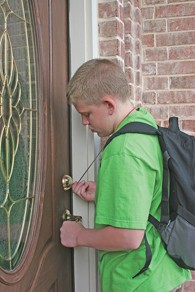 How to keep latchkey kids safe when home alone