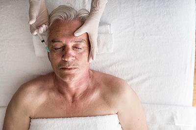 Cosmetic treatments for men no longer a secret