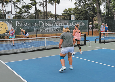 Pickleball mania holds  court in the Lowcountry