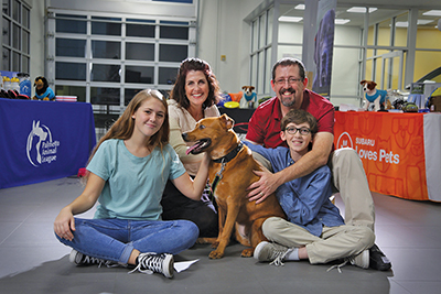 Local family featured in national Puppy Bowl commercial