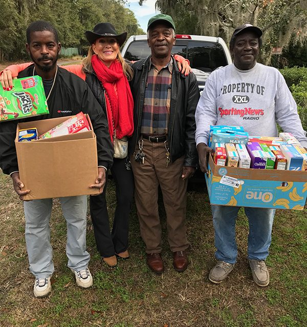 Sandalwood pantry marks decade of serving island's hungry