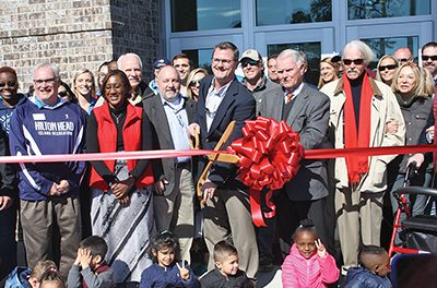 Island Rec Center re-opens with grand celebration Jan. 31
