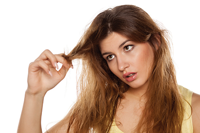 Protect hair from salty air in our hot, sticky climate
