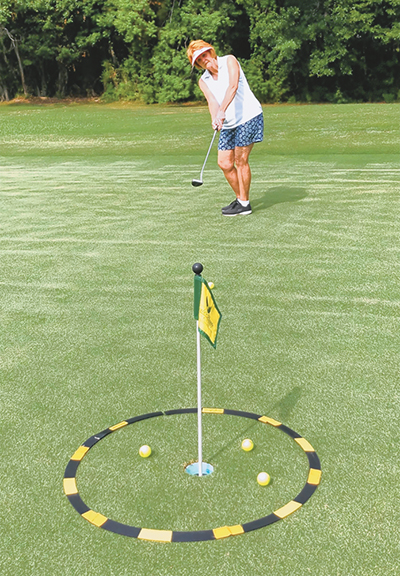 Learn how to lag putt and lower your scores