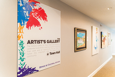 Last chance to see second installation of Town Hall gallery